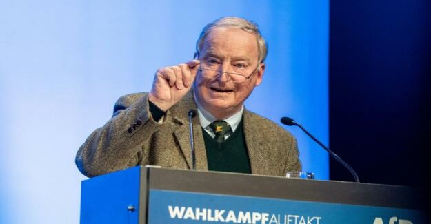 The start of the European election campaign : AfD rails against Eurocrats and EU-policy