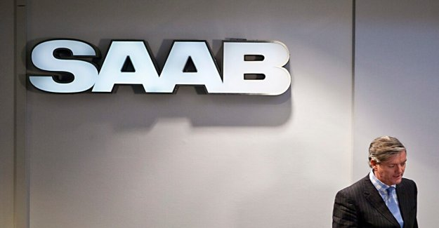 The state may lose billion on Saab bankruptcy