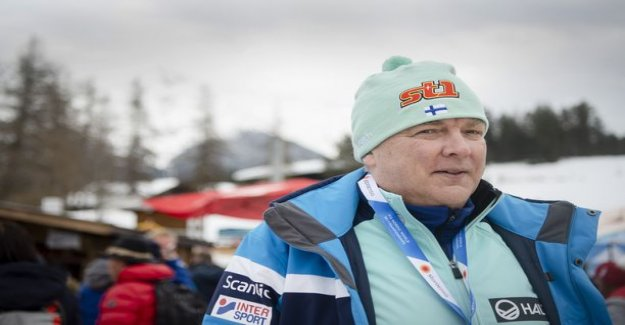 The tip of the nominees for Finland's new ski boss for refusing to – one name left the gate slightly ajar