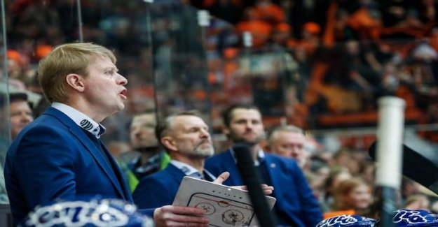 The two abandoned the goal: Tappara-coach of the Iron to basically confess to the judges of the hall in the bowels of the - Rönnin opinion, these are two of the best judges