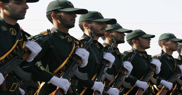 The united states wants to terrorstämpla Iran's revolutionary guard