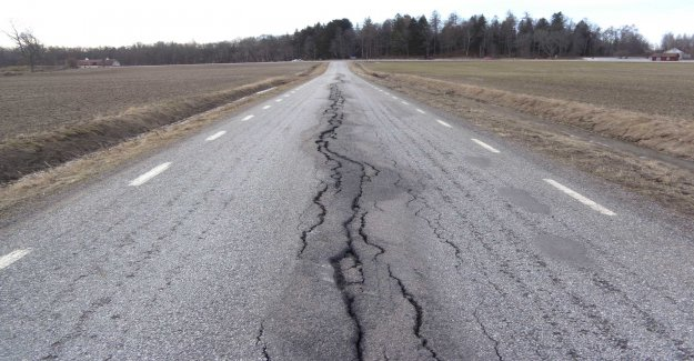 The worst roads in the country's northern parts