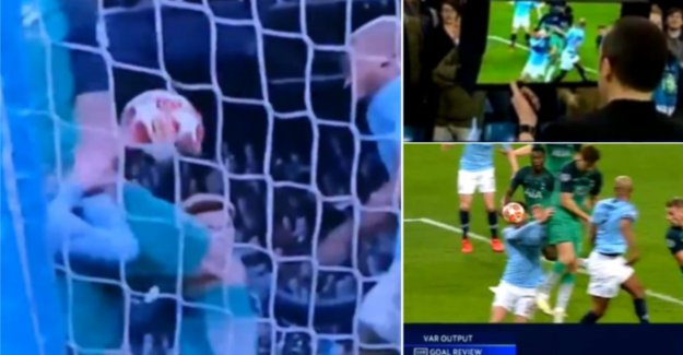 The wrong images: why ref Çakir even on the sidelines handplay of Llorente did not