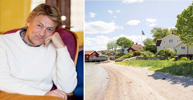 Therefore, moving Lars Lerin – to 16-miljonersvillan
