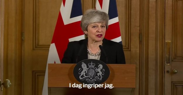 Theresa May: Now intervenes I sit down with the opposition