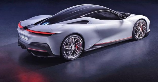 These new electric which hypercar accelerates faster than a fighter plane
