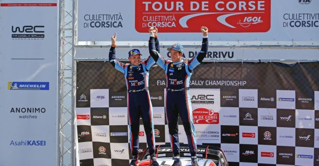 Thierry Neuville takes with victory in Corsica, world cup, lead: a Fantastic result in incredible rally