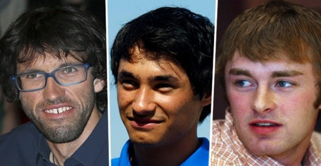 Three professional mountain spilled climbers might be from avalanche