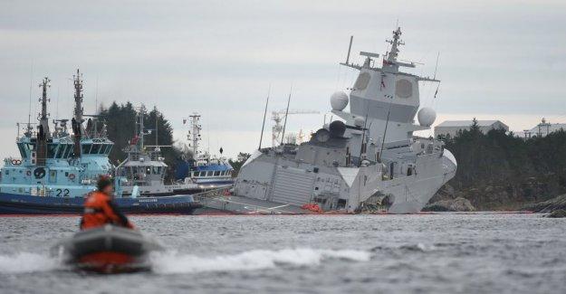 Three suspects after the Norwegian fregattkrock
