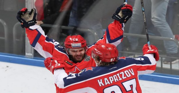 Timtshenko and rotenberg of SKA had once again disappointed – only one Finnish from the company to the Gagarin Cup win