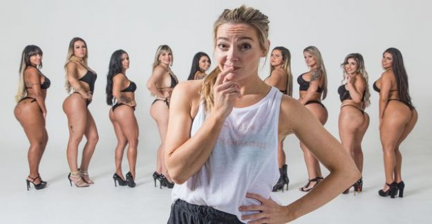 Today on tv: Miss Bumbum contest in the race to be the best ass - tight rules because of an accident: the competitor's glutes fillings explode