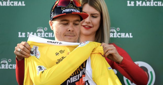 Tratnik surprised in Romandie, Campenaerts can fall no throw to do to win: Own fault