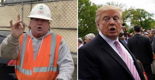 Trumps doppelganger seen by millions