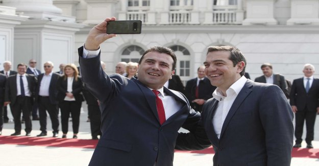 Tsipras, on the historic visit in Nordmakedonien