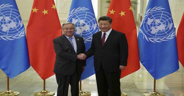 UN chief presses China on the uighurs