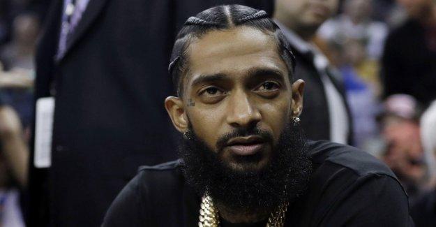 US Rapper for Hussle shot
