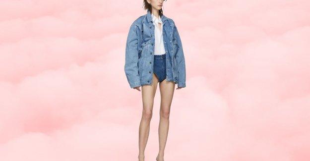 Ultrashort jeansshort of Belgian designer Glenn Martens is as good as sold out