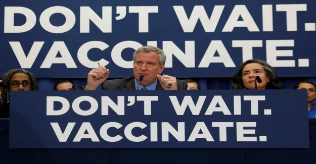 Unvaccinated New yorkers can be fined