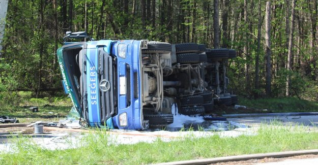 VIDEO. Driver concrete mixer becomes fatally wounded in one day of his retirement