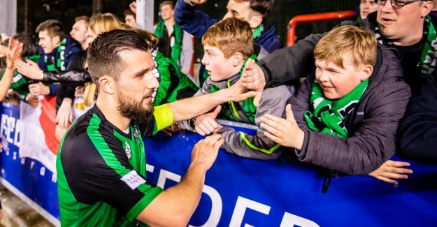 VIDEO. It was december 16, 2018 ago, but Cercle Brugge could still win
