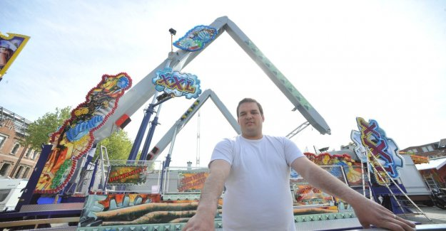 VIDEO. Kermiswereld in mourning: Denis Delforge (38) dies after a fall at demolition ferris wheel 'The Wheel'