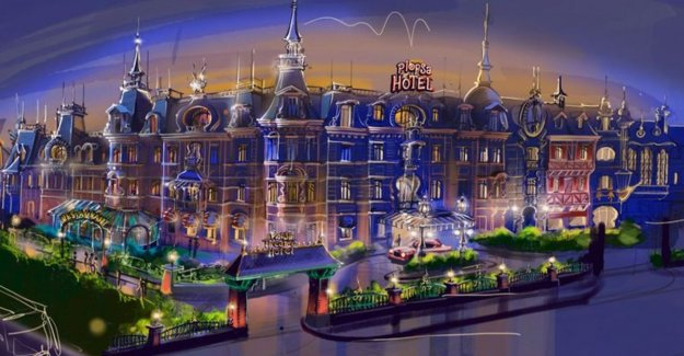 VIDEO. So will the Plopsa hotel look: night at Bumba and Mega Mindy