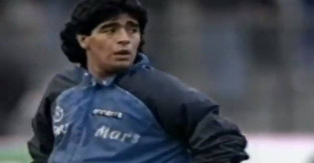 VIDEO. Today, 30 years old, the iconic global warming of Diego Maradona on the show of 'Live is life'