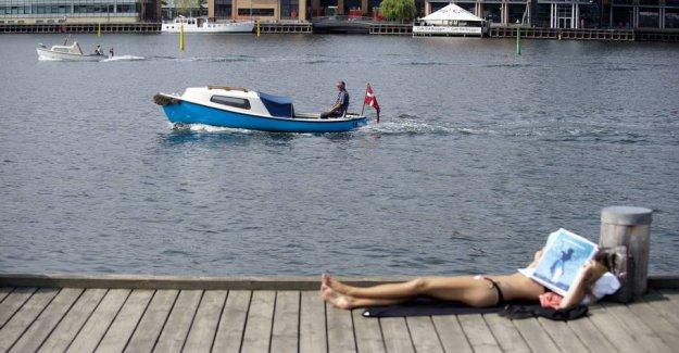 Varmebrag on Friday: - It gets really hot