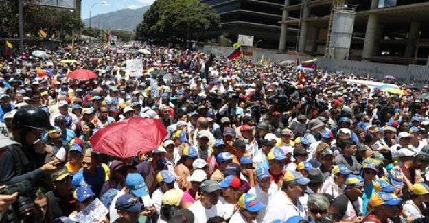 Venezuela: Opposition launches Operation freedom