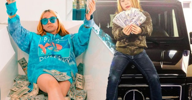 Very young rapper posing as 'the richest child of the century' can be found after months back on and does her mind-blowing story
