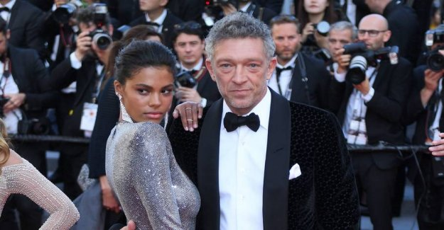 Vincent Cassel has been far - with 30 year younger wife