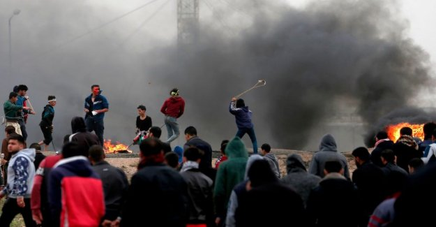 Violent demonstration at the israeli border: Several reported to have died