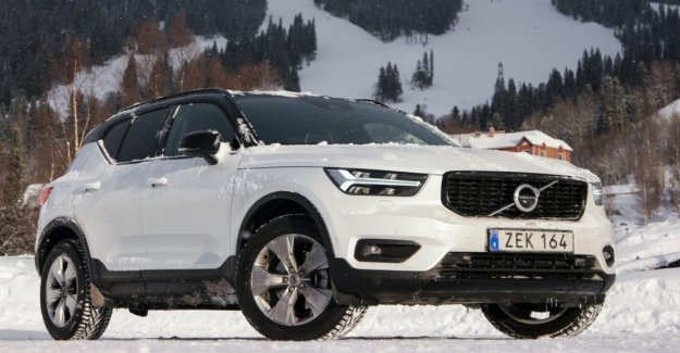 Volvo Cars increases on the falling markets
