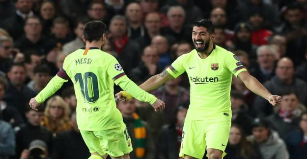 WAS-celona: Bloody Messi lowered the United
