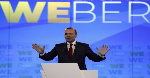 Weber promises united EU for the elections