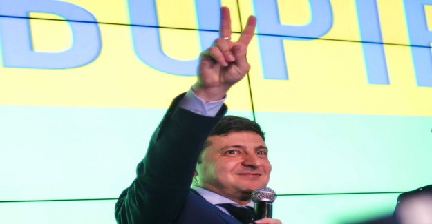What a wonderful day for comedians in the Ukrainian elections