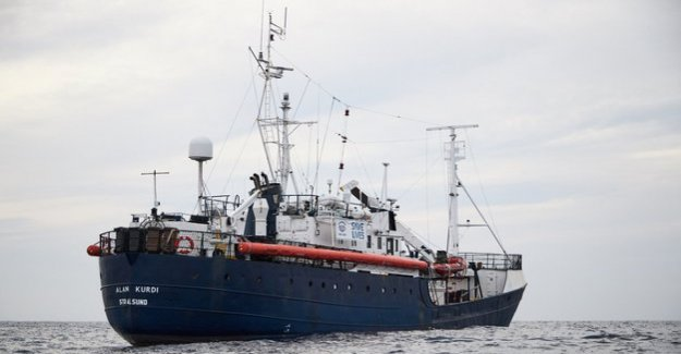 What we need now is a port of the German Maritime search and rescue ask Malta to help