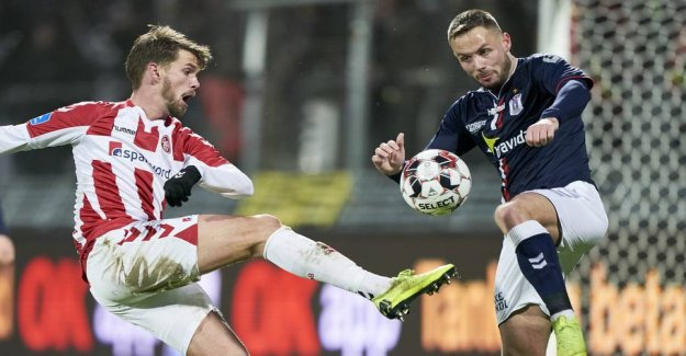 Wild development: AGF attacker AaB after spying