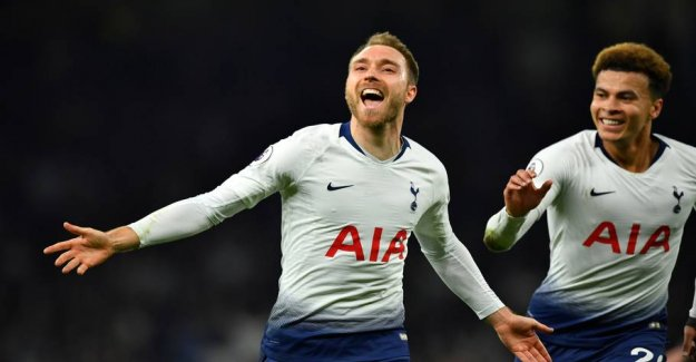 Wild's end: Eriksen becomes Tottenham-absolutely