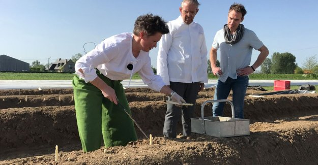 Without farmers chefs: Peter Goossens and co support the campaign to image farmers to boost