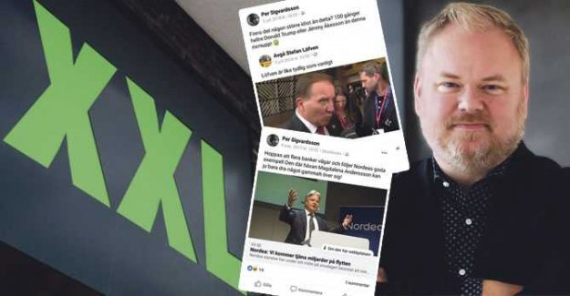 XXL's ceo poodles after offensive Facebookinlägg