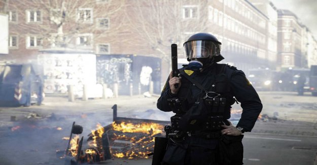 Xenophobic protest stopped in Denmark