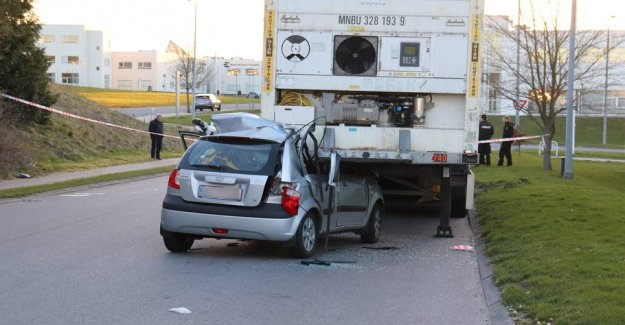 Young man in critical condition after accident