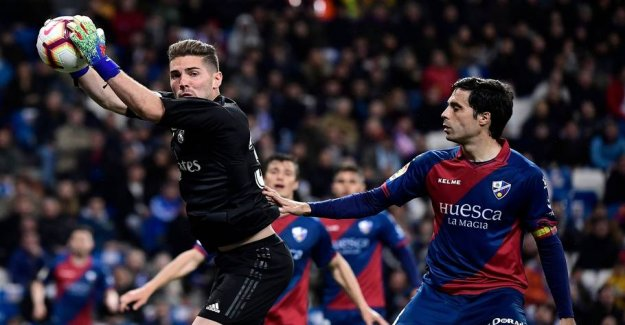 Zidane put the son on the - close to disaster