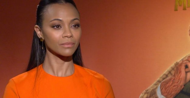 Zoe Saldana on 'Missing Link': I am happy that my children can agree on watching a movie of me