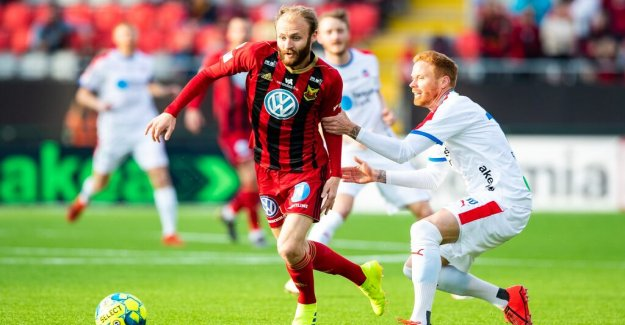 Östersund is one of the four teams in the tabelltoppen