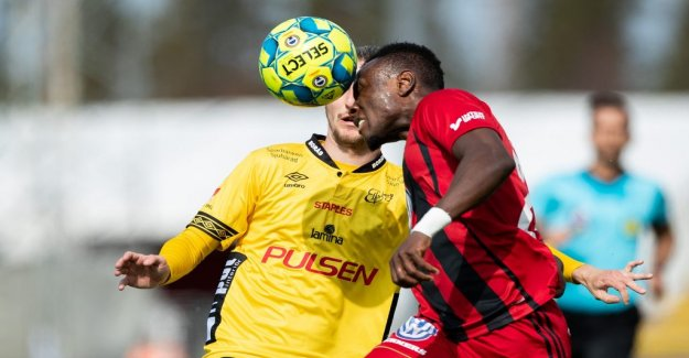 Östersund, sweden and Elfsborg shared at the point