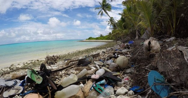 1 million shoes and mountains of other junk: shores of a remote archipelago littered with plastic