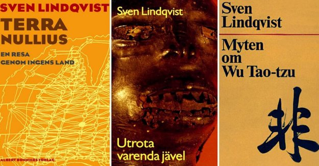 5 highlights from the Sven lindqvist's writing