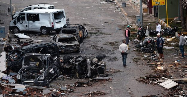 53 lifetimes for the Turkish bombings